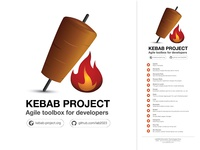 Kebap Project Roll up design