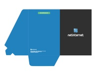 Folder Design - Netinternet Printable materials