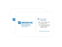 Business card Design - Netinternet printable materials