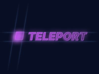 Teleport Figma Plugin Banner retro banner figma