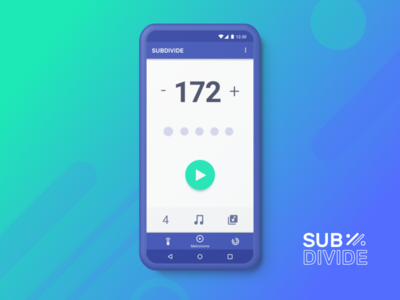 Subdivide Metronome UI