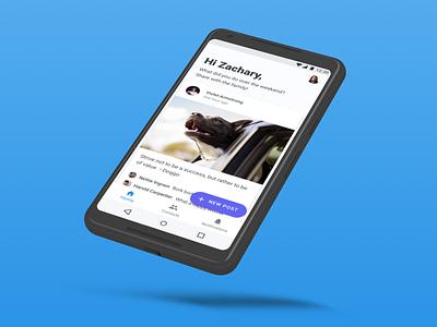 GrandPad Android App - Redesign mobile app material design android ux ui grandpad