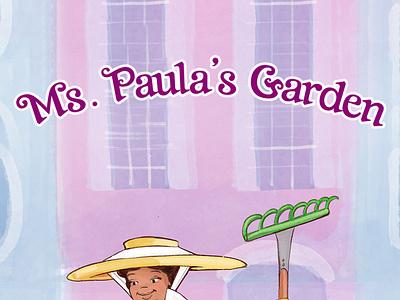 Ms  Paula s Garden Book and Game family fun games google illustration branding childrens book children app game apple amazon