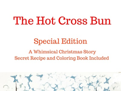 The Hot Cross Bun, book and game holidays coloring book reading book family fun google childrens book branding app game apple amazon