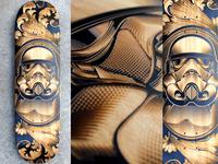 Stormtrooper Laser Etched Deck
