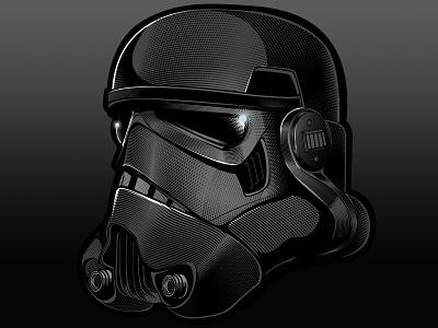 Stormtrooper Helmet vector wars star stormtrooper etched