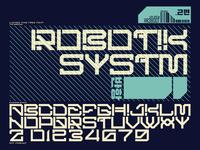 Robotik.SYSTM Font