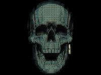 Partical Vector Skull