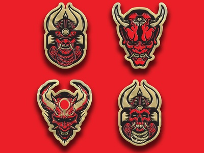 Samurai Pin Series