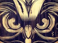 Laser Engraved Owl
