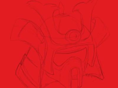 Speeder Scout Trooper Time-Lapse starwars shogun samurai stormtrooper trooper illustrations vector wars star