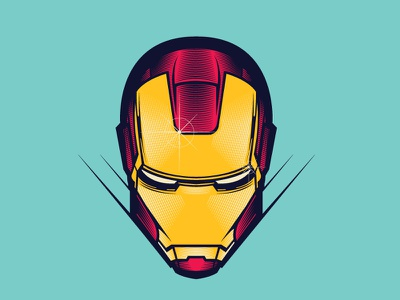 Ironman vector art etching man iron marvel illustration vector