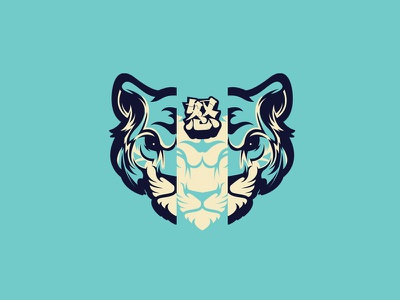 Japanese Tiger mascot japan tiger illustration vector