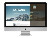 North Coast Alpine Guides site