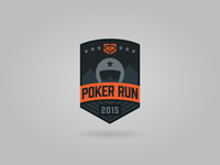 Home with Heroes Poker Run Patch