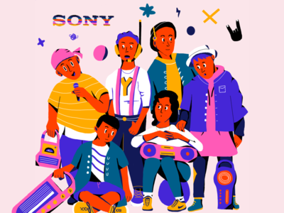 Sony Futuristic Hip-Hop Group