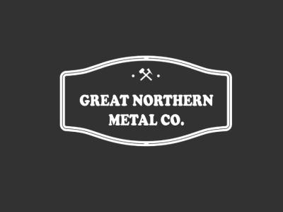 Metal Work Company Logo vector logo design company metal work branding logo design flat