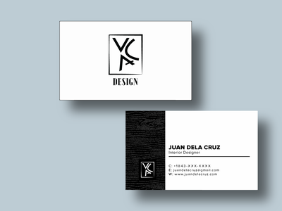 Business Card Template Design (Version 2) identity branding branding design logo design wood business card design business card