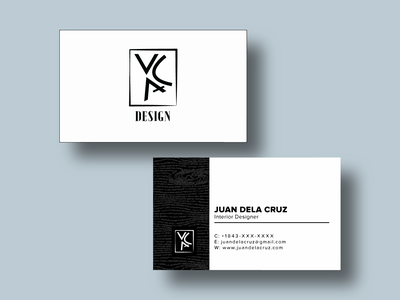 Business Card Template Design (Version 1) business cards card business wood identity logo branding illustration business card design business card branding design