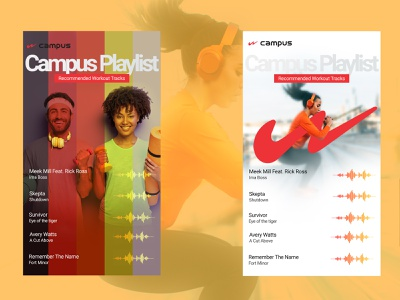 workout playlist instagram story design mobile design workout songs playlist social creative instagram story music interface app