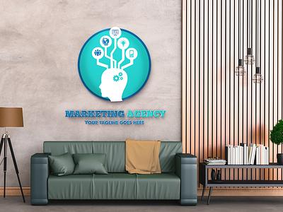 Digital Marketing Logo digital marketing logo marketing agency logo dribbble best shot fiverr unique logo modern logo business logo logo design logo