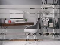 Home Office CG Renders