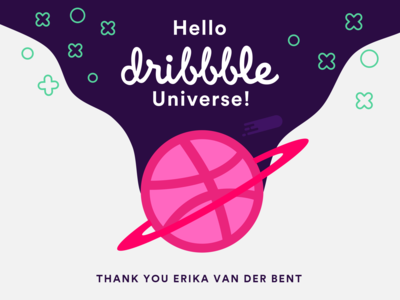 Hello Dribbble - Thanks for the Invite!
