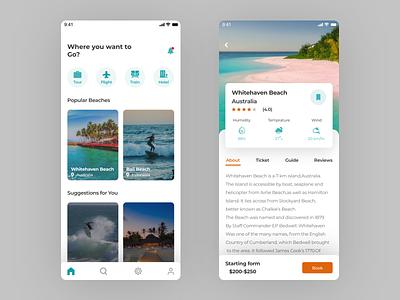 Tourist App Screens tourism app application ui uxui webdesign android app design ios mobile ui ui ui design ux ux design
