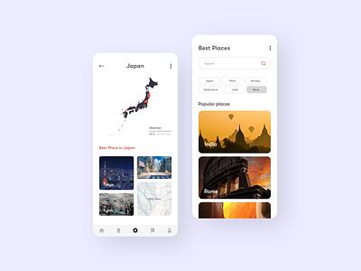 Travel app design mobile app design app ui travel mobile design travel travel app app design