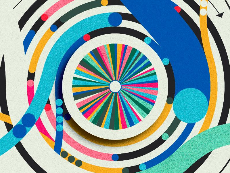 Script & Seal Color Wheel
