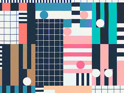 Blocky Road colors dataviz infographic data pattern grid blocks