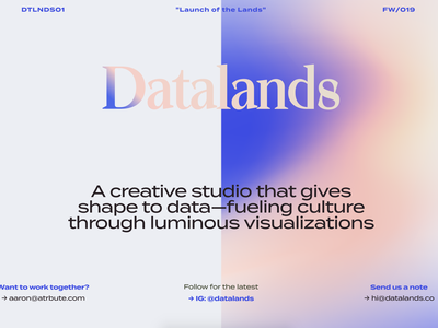 Datalands Site information illustration art data data viz dataviz infographic creative design datalands