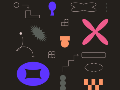 Data ! Lands ! story abstract shapes content science information infographics data dataviz
