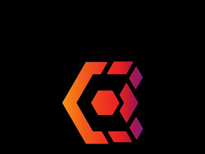 Fading Gradient unique logo gradient logo design creative logo logo branding vector simple professional minimal illustration design