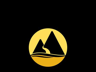 Minimal Hill vector logo design icon unique logo creative logo branding simple professional minimal illustration