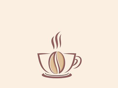 Unique Coffee colorful unique logo creative logo vector professional minimal illustration