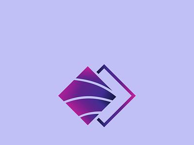 Square Gradient simple logo design vector gradient unique logo creative logo professional illustration minimal