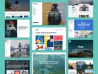 Precrafted Wordpress + Tumblr Themes