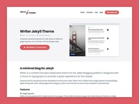 Jekyll Themes – Theme details page