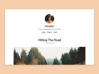Simples – Blog Jekyll Theme