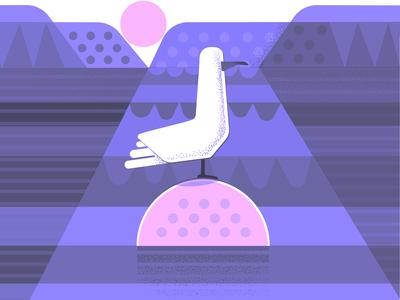 Buoy Rising texture illustration
