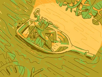 Keep Paddling illustration