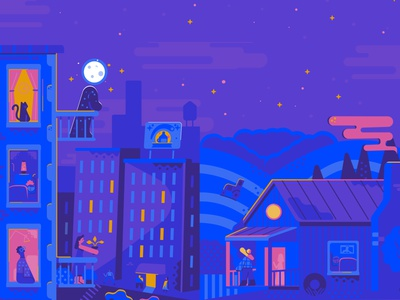 moonhead childrens illustration design