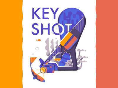 Keyshot illustration