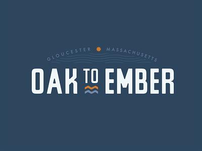 Oak To Ember branding design