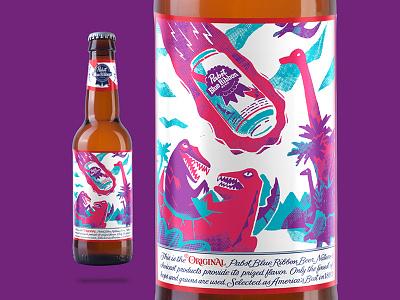 PBR bottle winner winner competition design label illustration