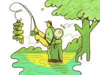Fishing for Balance
