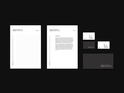 Tessitura Stationery branding custom font logotype logomark stationery brand logo