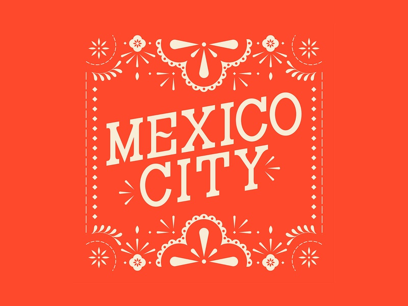 Details – Mexico City tourism mexico design vector custom type typography type lettering