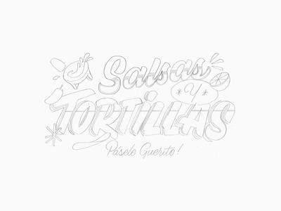 Salsas & Tortillas – Sketch